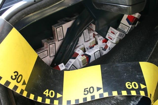 masina contrabanda tigari 2