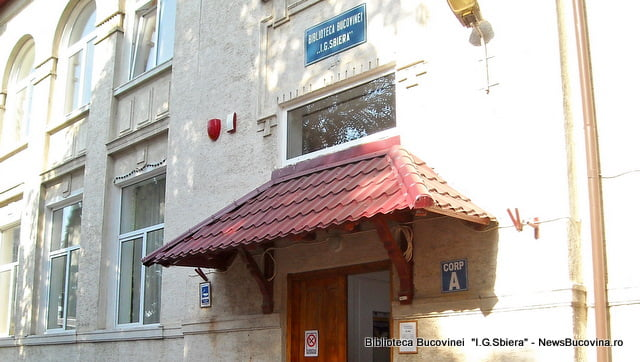 Biblioteca Bucovinei I.G.Sbiera