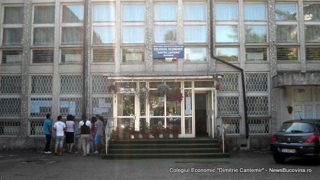 Colegiul Economic Dimitrie Cantemir bac