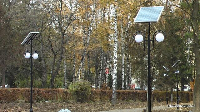 panouri fotovoltaice parc universitate 1