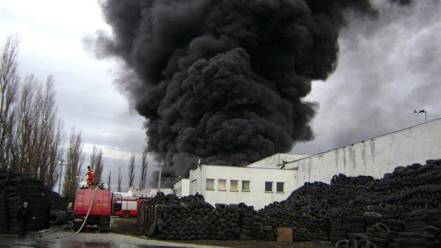 incendiu fabrica cauciucuri slobozia