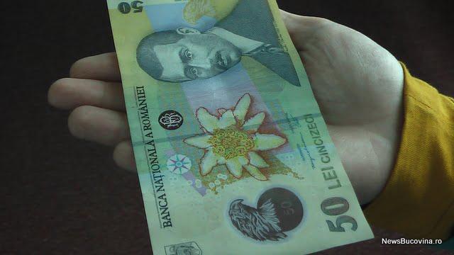 bani bancnota
