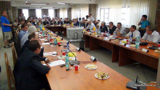 Şedinţa de constituire a Consiliului Local Suceava
