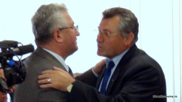 Ion Lungu si Gavril Varvara