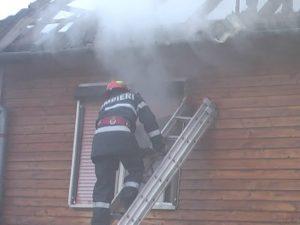 incendiu mansarda