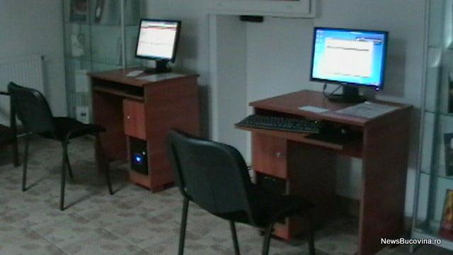 Calculatoare hol biblioteca