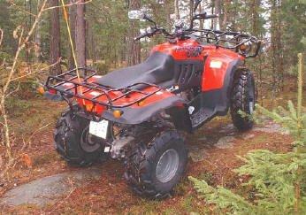 ATV padure
