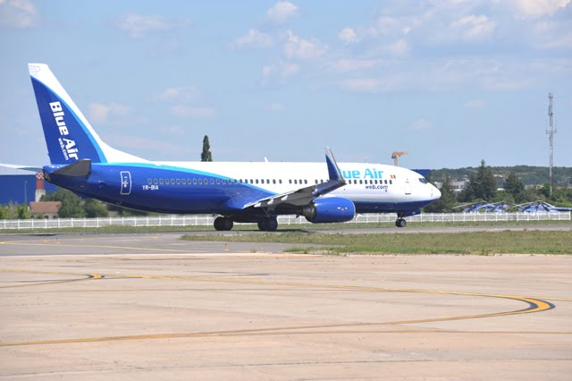 Blue air-Boeing 737-800NG destinatii aeriene