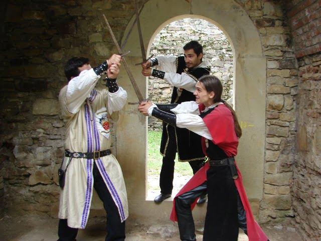 luptă cetatea sabie