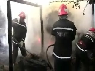 Incendiu anexe casa particulara Roscani 22.08.2009 001