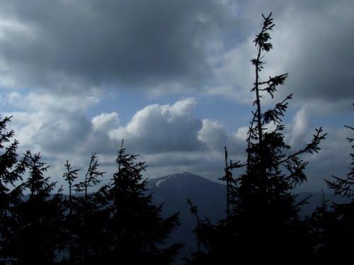 ploaie munte