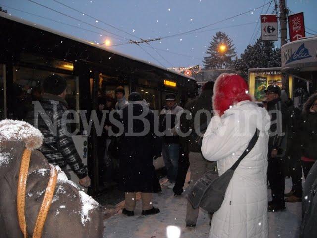 autobuz TPL iarna