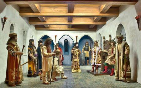 sala tronului-Muzeul Istorie