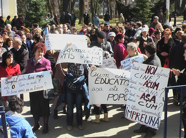 protest profesori