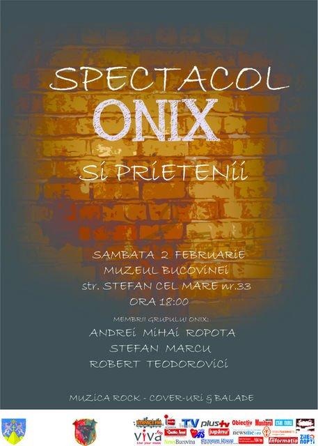 spectacol onix