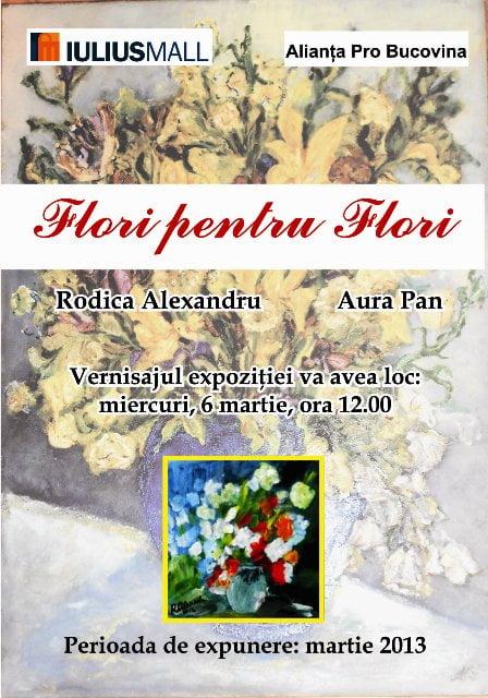 Afis Flori pentru flori_IM SV_2013
