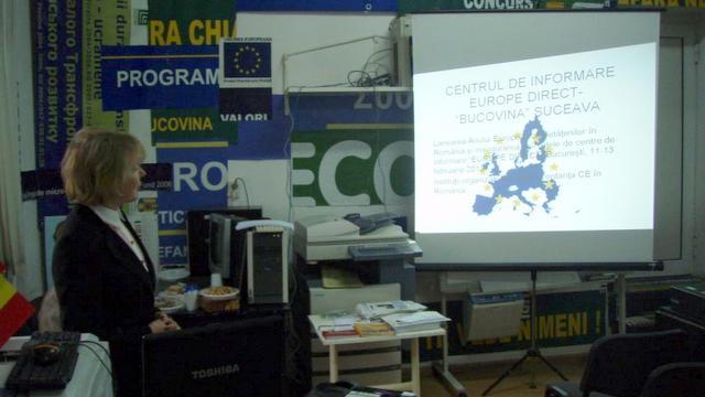 lansarea Centrului Europe Direct la Suceava