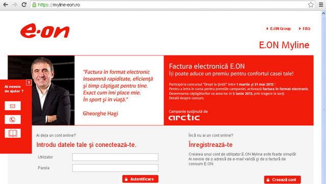 factura electronica E.ON