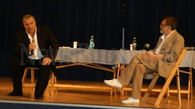 Constantin Chiriac si Matei Visniec