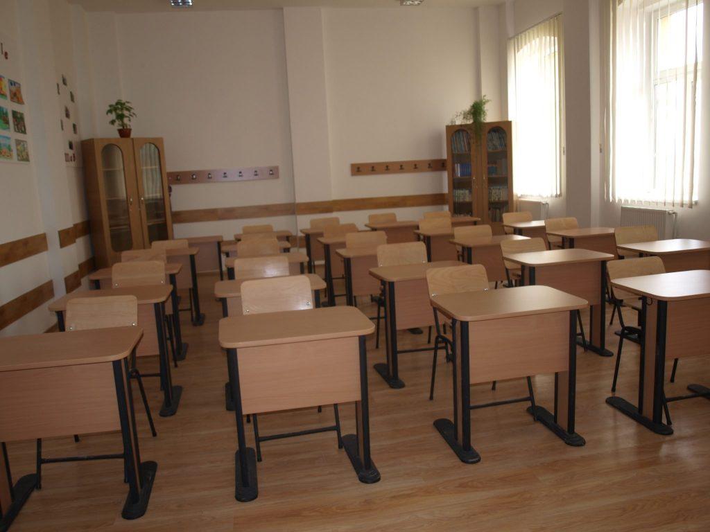 scoala clasa banci