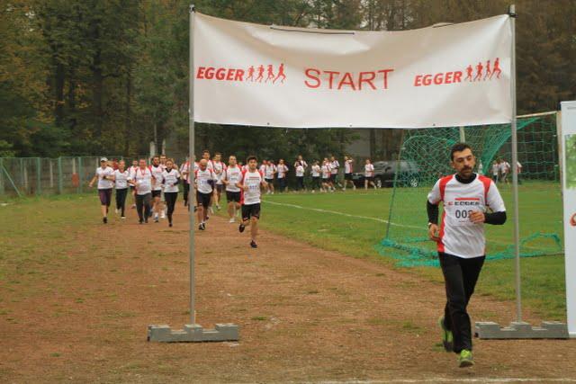 Egger is running