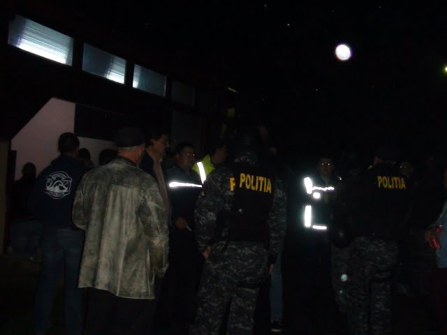 politie razie bar discoteca