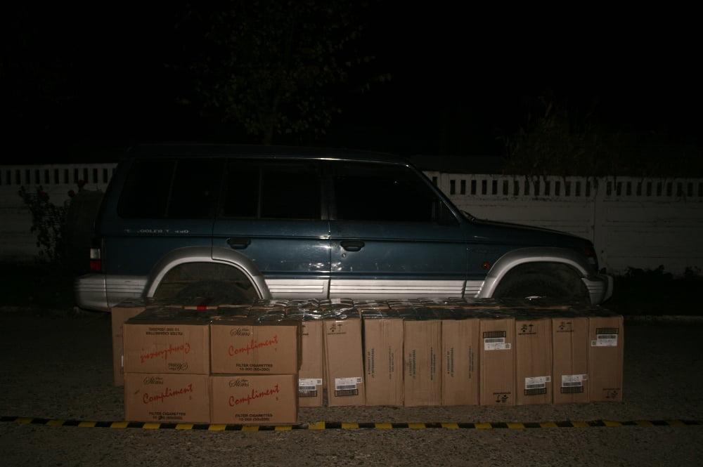 tigari masina contrabanda
