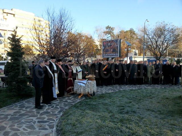 depunere coroane la Monumentul Unirii (1)