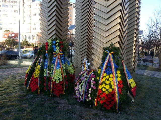 depunere coroane la Monumentul Unirii (3)