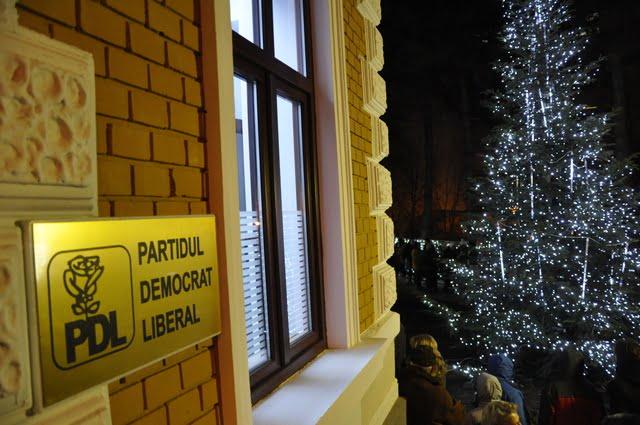sediul PDL Suceava lumini Craciun