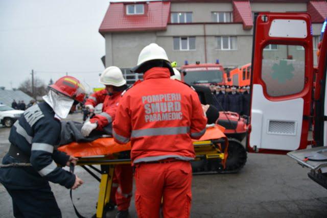 ISU pompieri paramedic interventie