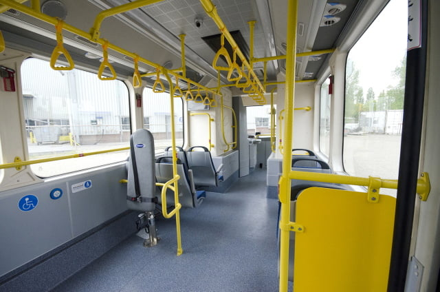 Interior autobuz electric 1