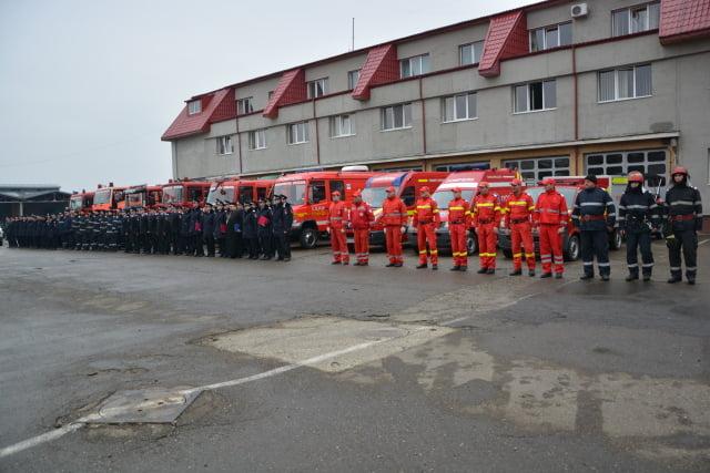 Pompieri ISU Suceava