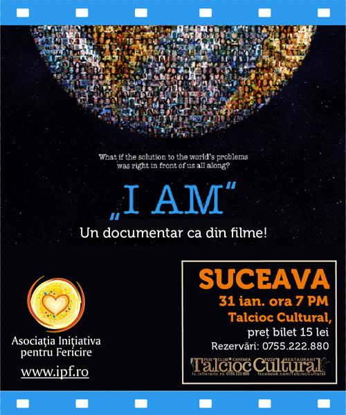 I AM 31ian. 2014 Suceava_Event Afis (2)