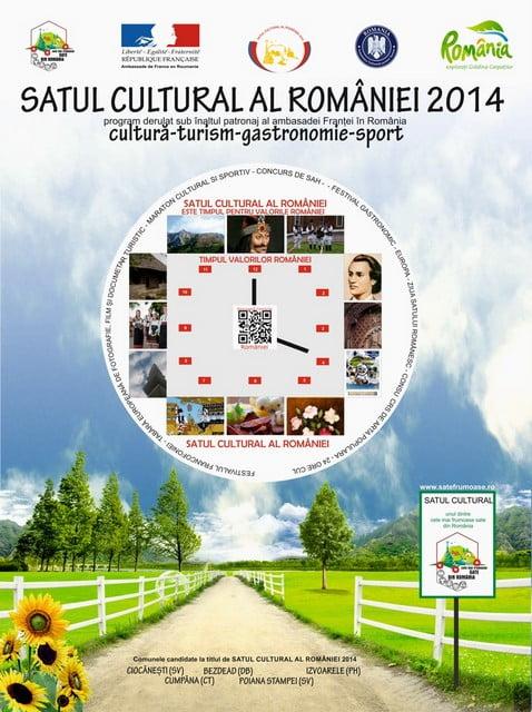 satul cultural al romaniei