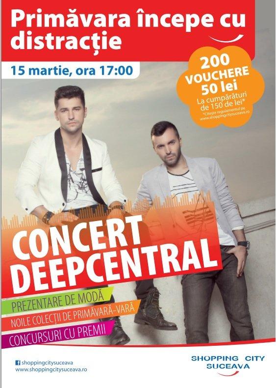Afis Concert Deepcentral