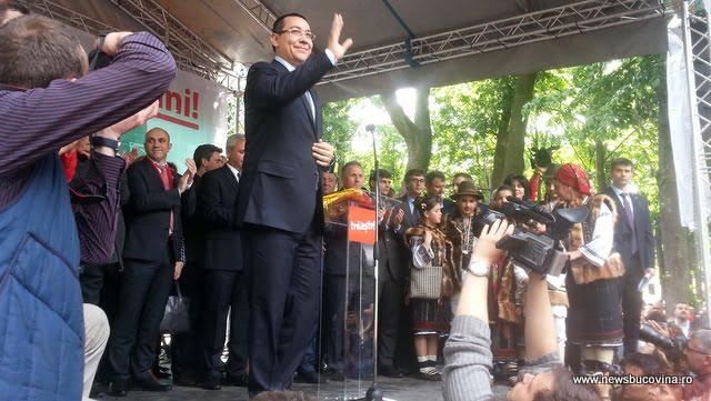 Victor Ponta Suceava-Dumbraveni