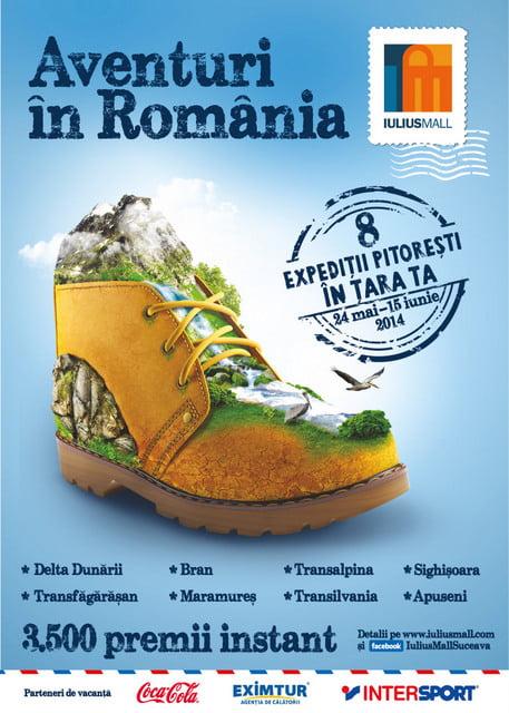 Afis Aventuri in Romania_IM SV_2014