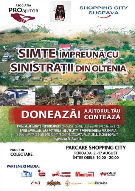Campanie sinistrati Oltenia 2014
