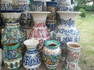 targul mesterilor populari ceramica marginea
