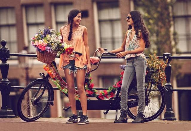 fustite pe bicicleta