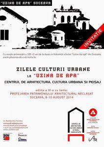 invitatie Uzina de Apa Suceava 2014