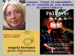 Lansare Post hipnotice de Angela Furtuna la Folkever