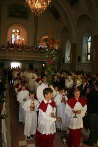 Manifestarea de sâmbătă de la Soloneţu Nou a debutat cu Sfânta Liturghie