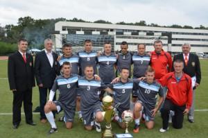 Politistii suceveni campioni la minifotbal 29.09.2014