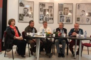 angela-furtuna-tudorel-urian-pavel-susara-devis-grebu-felix-nicolau-1 lansare muzeul literaturii romane 6 iunie 2014