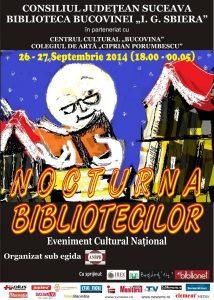 nocturna bibliotecilor 2014