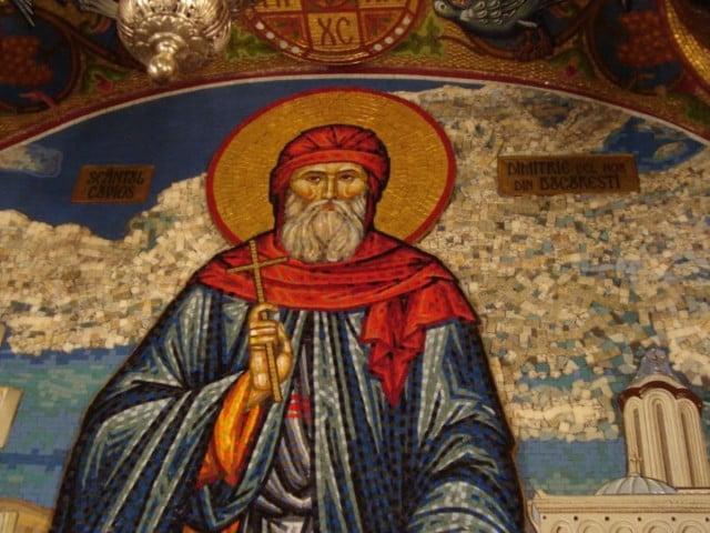 Sf. Cuvios Dimitrie cel Nou (Basarabov) - ocrotitorul Bucureștiului