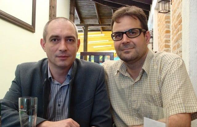 Liviu Clement si Dan Iordache