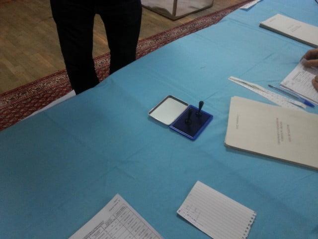 alegeri votare sectie